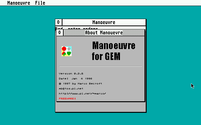 Manoeuvre for GEM
